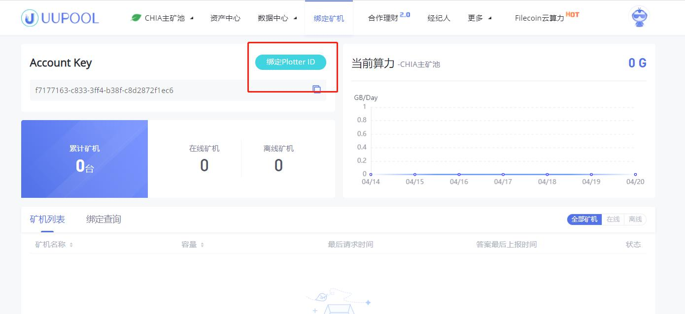 uupool_chia挖矿教程3-1